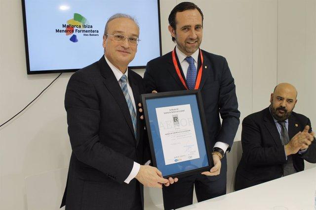 Bauza y Martínez reciben ISO aenor