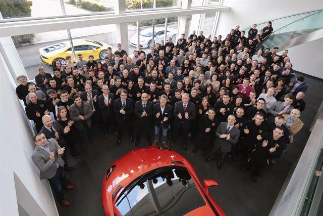 Empleados de Lamborghini