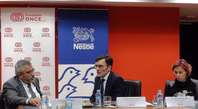 Acuerdo Fundación ONCE y Nestlé
