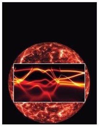 Núcleo de la Tierra revestido por la estructura electrónica del hierro