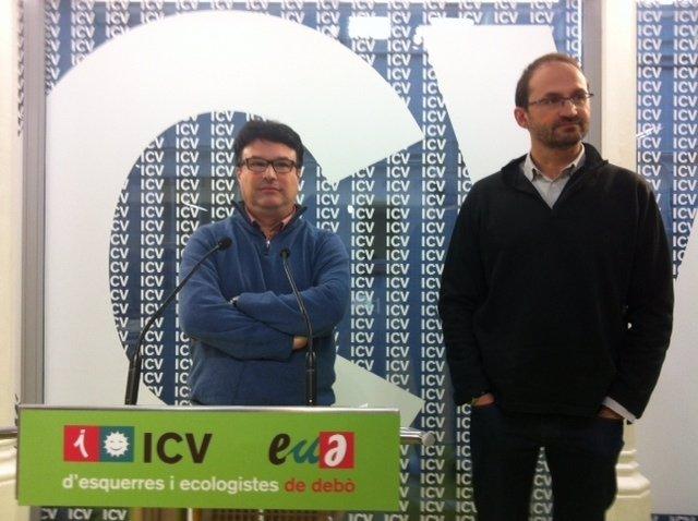 Joan Josep Nuet y Joan Herrera