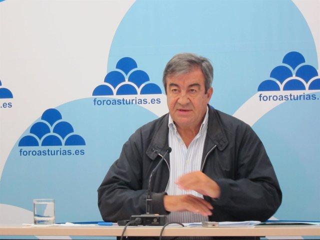 Francisco Álvarez-Cascos, presidente de Foro Asturias
