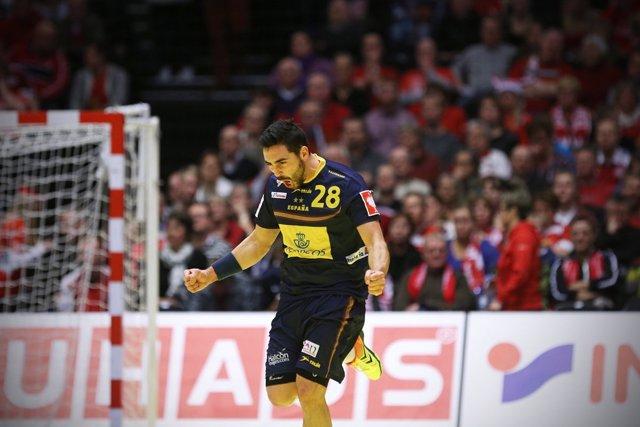 Valero Rivera España Austria balonmano Europeo Dinamarca