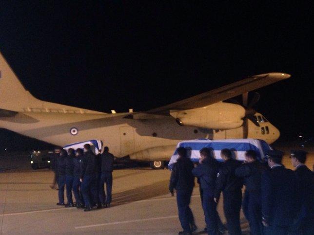 Homenaje griegos pilotos