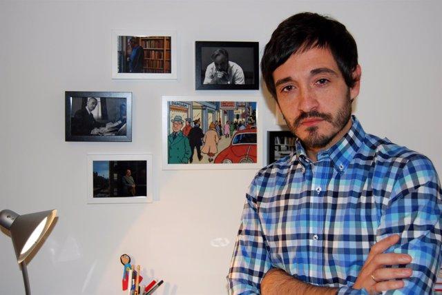 Santiago Velázquez, autor de 'Viaje al invierno'