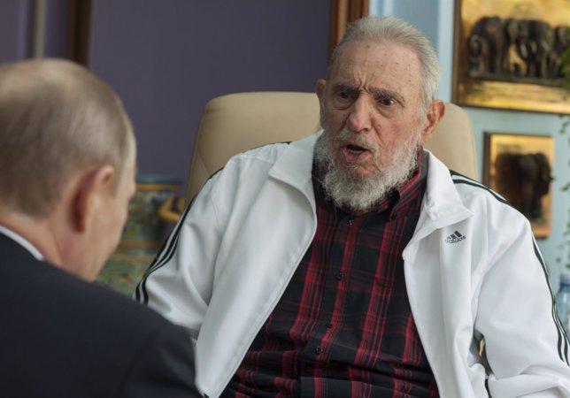 El expresidente cubano Fidel Castro se reúne con Putin