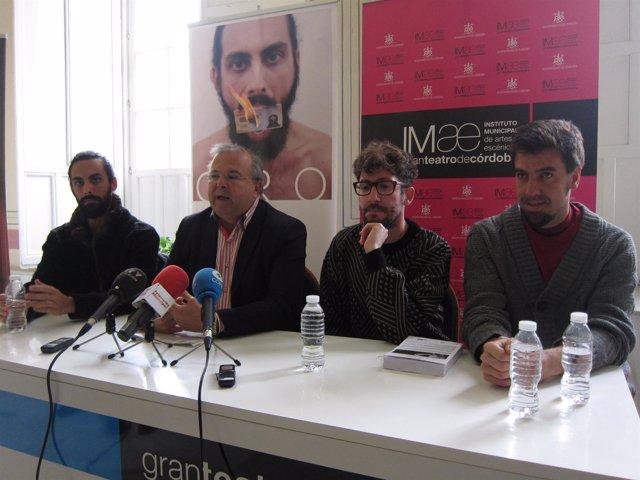 Presentación de la creación 'Oro' con Moreno Calderón