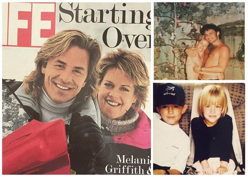 """La melancolía de Melanie Griffith: """"Amo a los padres de mis hijos"""""""