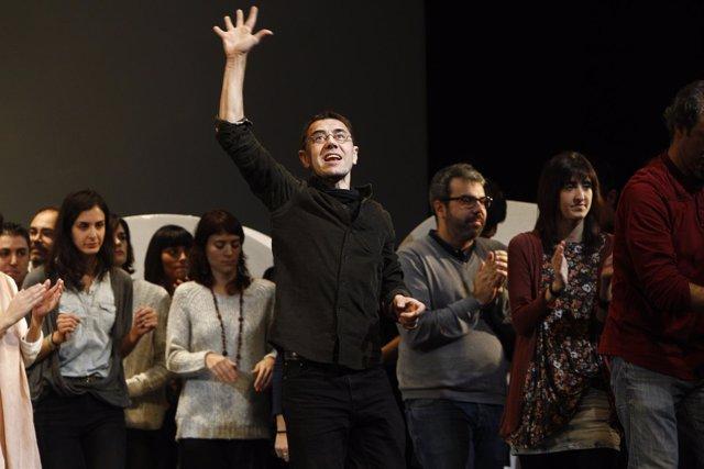 Juan Carlos Monedero, Podemos