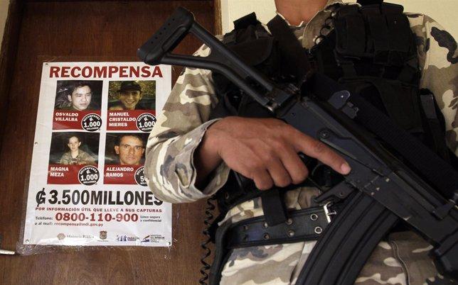 Miembros del EPP en busca y captura.