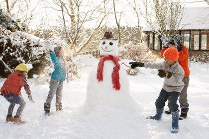 Juegos para disfrutar de la nieve con los niños