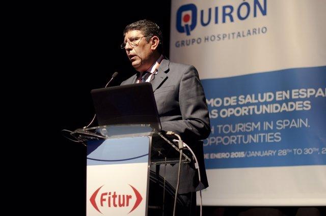 Anuel Vilches, director general del Instituto para el Desarrollo e Integración d