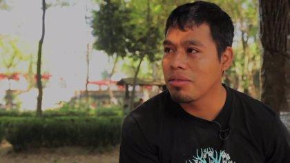 """VÍDEO: """"Por qué nos tienen miedo"""", según un 'normalista' de Ayotzinapa, México"""