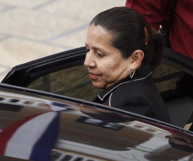La ex directora del DAS --Inteligencia colombiana-- María Pilar Hurtado