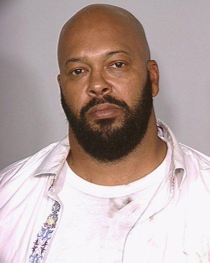 El magnate del rap 'Suge' Knight, arrestado por asesinato en Los Ángeles