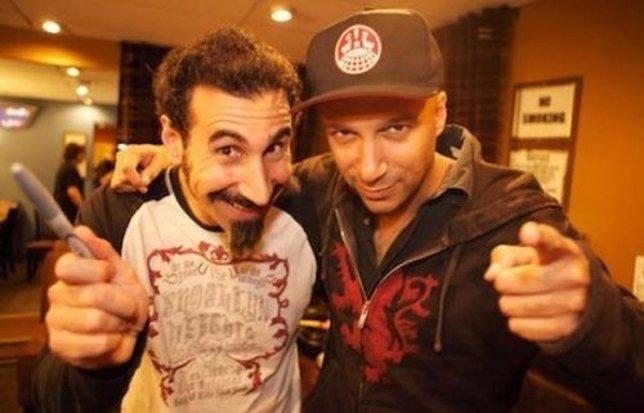 Serj Tankian y Tom Morello