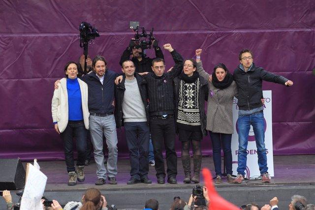 Marcha por el Cambio, convocada por Podemos