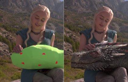 VÍDEO: Así son los dragones de Daenerys en Juego de tronos
