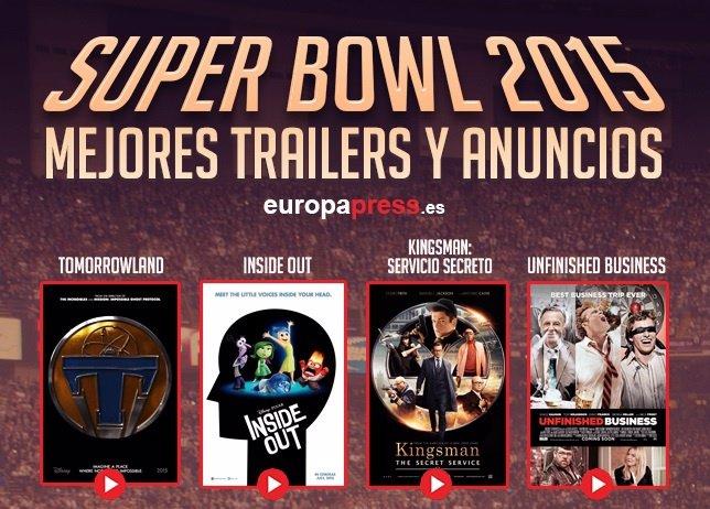 Tráilers de la Super Bowl 2015
