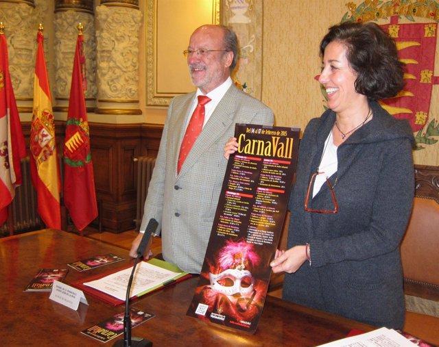 El alcalde de Valladolid y la concejal de Cultura presentan la programación
