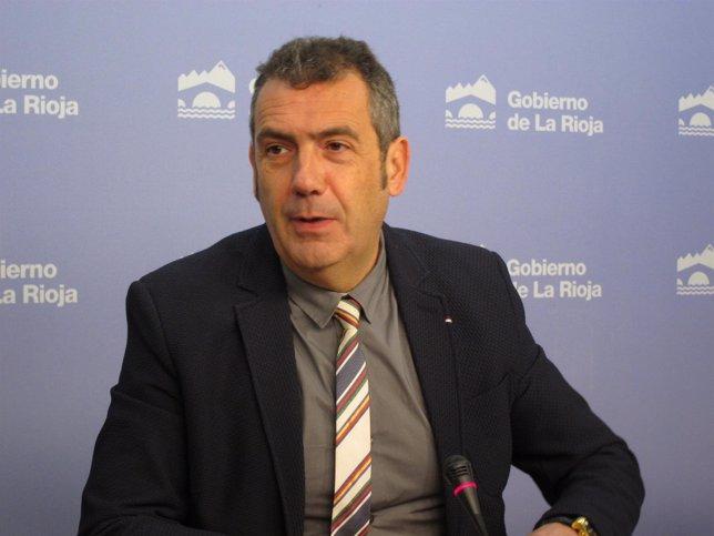 Luis García del Valle, director general de Formación y Empleo del Gobierno Rioja