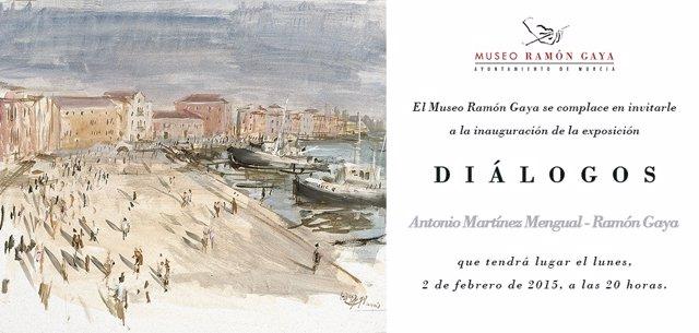 Cartel de la exposición 'Diálogos'