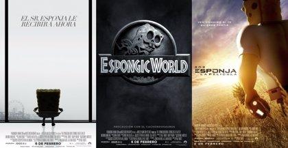 ¿Y si Bob Esponja protagonizara 50 sombras de Grey, Jurassic World o Terminator?