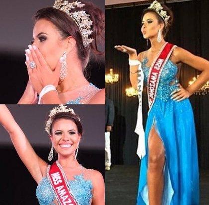 """Miss Amazonas: """"Merezco la corona y voy a demandar a Sheislane Hayalla"""""""