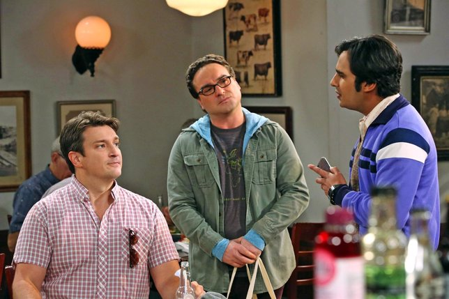 Nathan Fillion hará un cameo en The Big Bang Theory