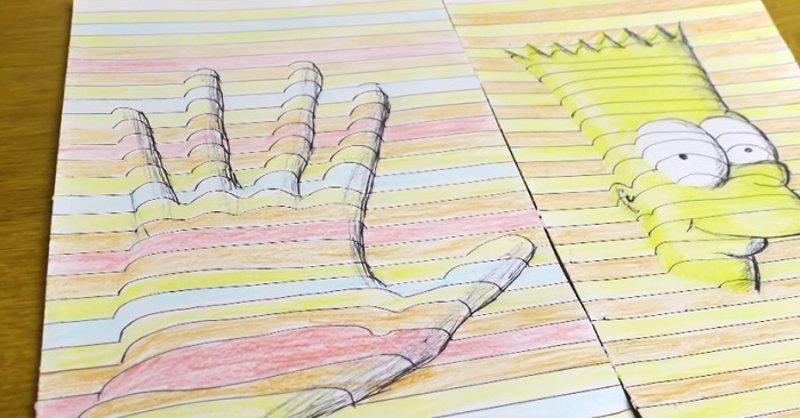 Tutorial C Mo Hacer Dibujos En 3d Usando La Ilusi N Ptica