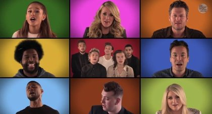 Vídeo: Ariana Grande, One Direction, Sam Smith, Usher y Christina Aguilera cantan We Are the Champions de Queen