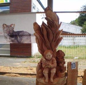 escultura de árbol