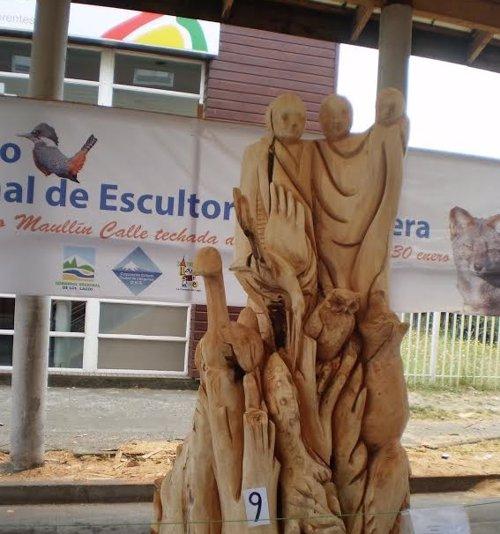 escultura árboles