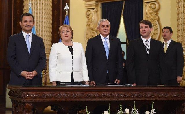 Acuerdo de colaboración turística Chile y Guatemala