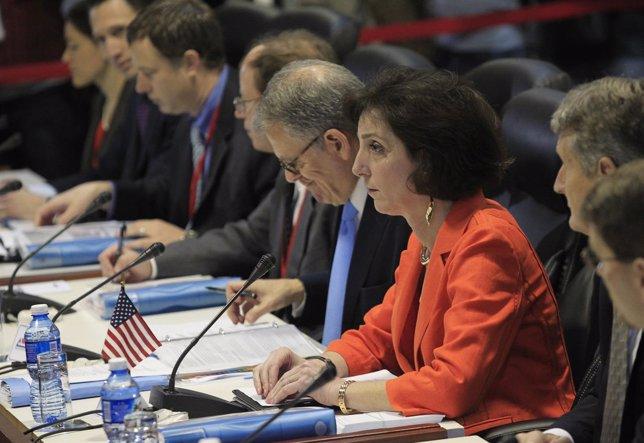 Delegación de EEUU para las conversaciones con Cuba