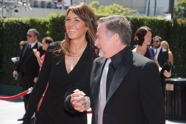 Robin Williams y su esposa  Susan Schneider