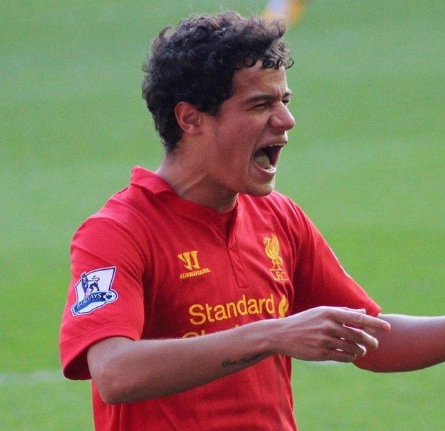 Philippe Coutinho amplía contrato con el Liverpool