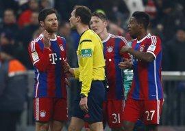 El Bayern no recupera la senda del triunfo