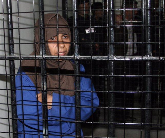 Sajida al-Rishawi la yihadista que piden a cambio del rehén jordano y nipón