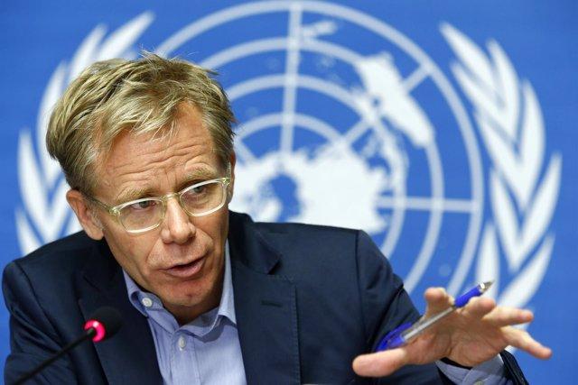 Nuevo representante de la lucha contra el ébola de la OMS  Bruce Aylward