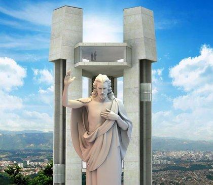 Ordenan cambiar nombre de 'El Santísimo', el monumento más alto de Colombia