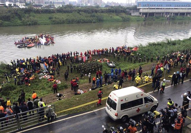 Accidente de avión de taiwán
