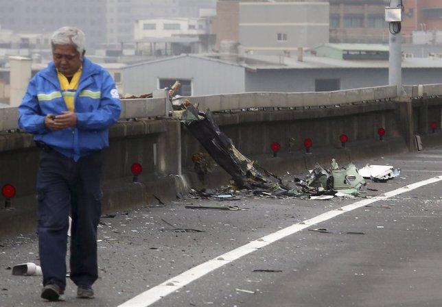 Accidente enTaiwán