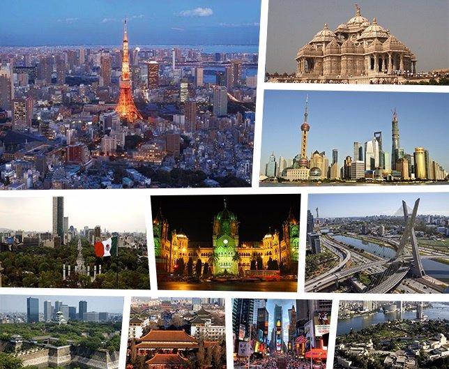 Las ciudades más pobladas del mundo: Tokio, Delhi, México DF