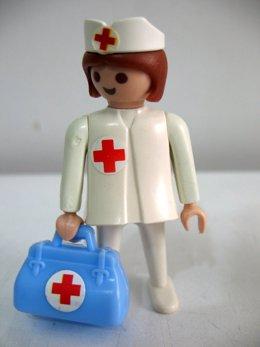 Playmobil enfermera