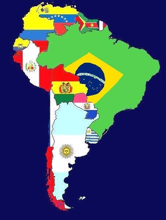 Continente de Sudamérica
