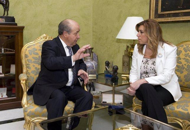 Reunión de Torres Hurtado con Susana Díaz