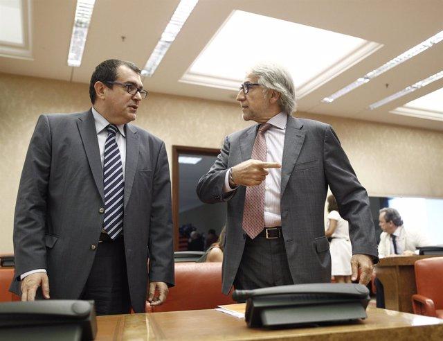 Jordi Jané y Josep Sánchez Llibre, diputados de CiU