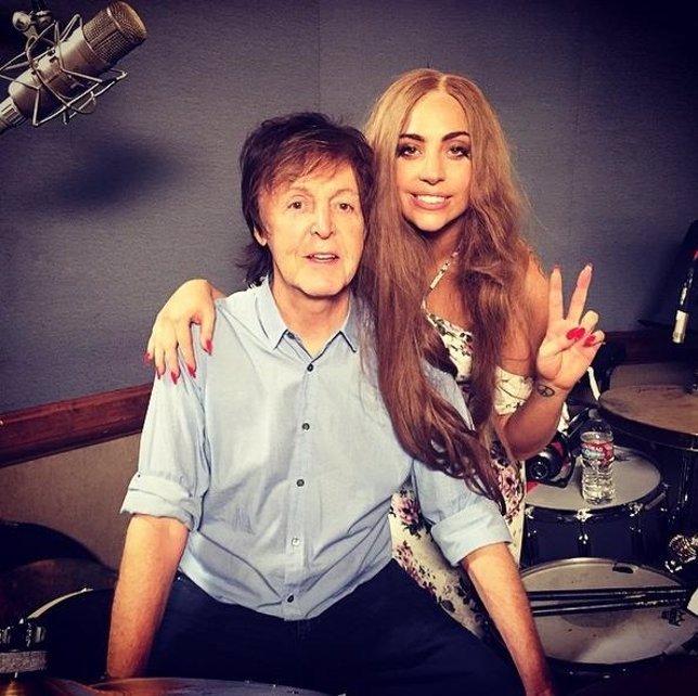 Paul McCartney y Lady Gaga