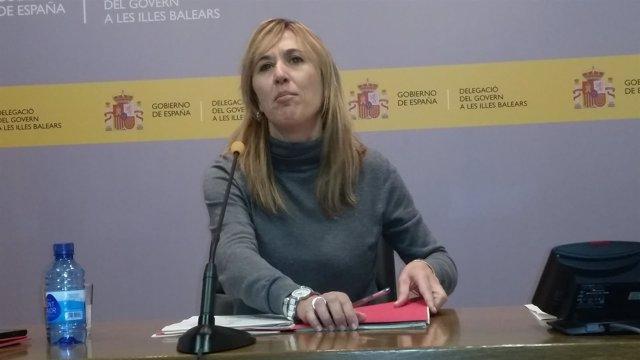 La delegada del Gobierno en Baleares, Teresa Palmer